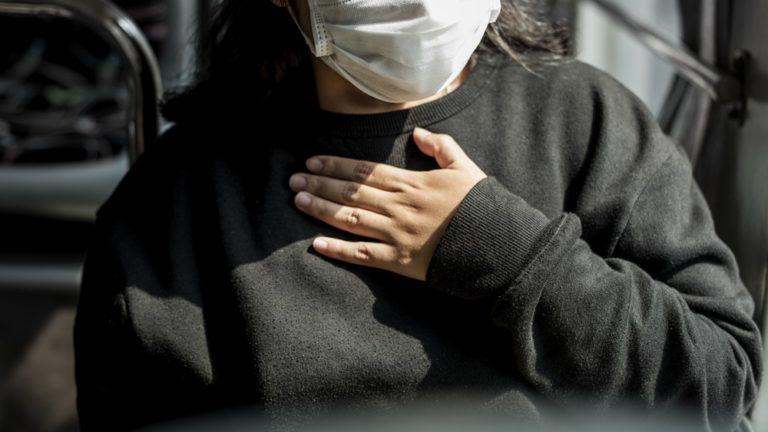 dificuldade para respirar   falta de ar